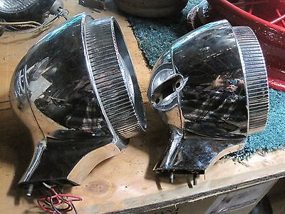 Vintage Chrysler Headlights-set of 2-