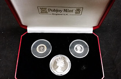 Penny Black Tri-Metal Proof Set with COA (RC65)