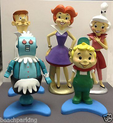 Jetsons Maquette Statue  5 Piece Set  Ltd  500 Sold Out Rt$1200 Free Shipping