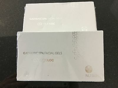 Nu Skin Galvanic Spa Facial Gels with Ageloc x2  factory sealed boxes