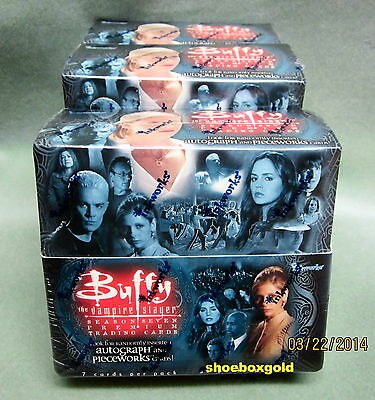 BUFFY The Vampire Slayer,  Season 7 Factory-Sealed Hobby BOX