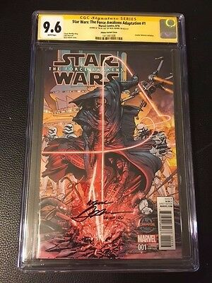 Star Wars The Force Awakens Adaption 1 CGC 9.6 SS Signed by Neal Adams 56/100