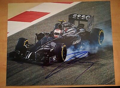 Kevin Magnussun Signed 8x10 Photo F1 McLaren Exact Proof