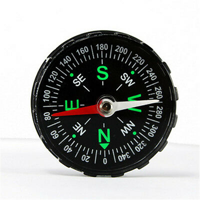 New Outdoor Survival Pocket Mini Compass Hiking Camping Essential Tools