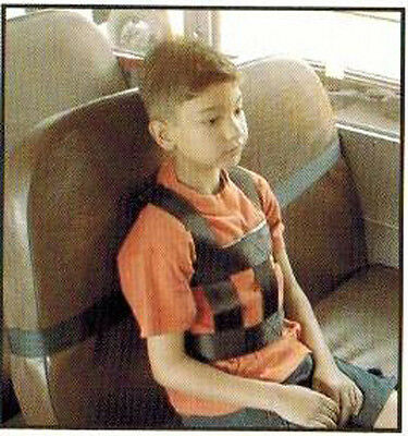 "LARGE Sit Rite Harness Restraint for bus seats w/ 112"" adjustable length Strap"