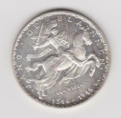 1946 Luxembourg Silver 20 Francs