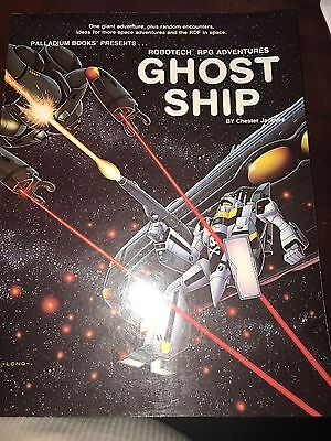 ROBOTECH GHOST SHIP VF! RPG Adventures RDF Palladium Books Presents Roleplaying