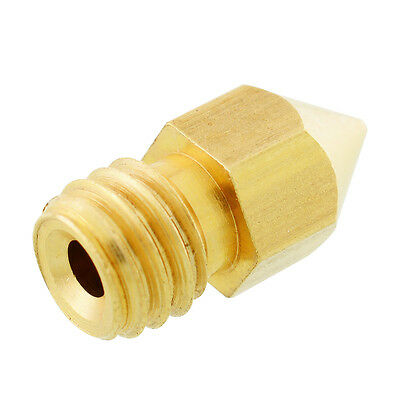0.4mm 3D Extruder Nozzle Print Head for Makerbot MK8 Brass DIY Accessories