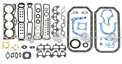85-91 Toyota Corolla Gts & Mr2 1.6L Dohc 16V 4Agec 4Age Full Engine Gasket Set