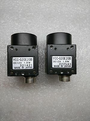1pcs Used CIS Industrial Camera VCC-G20E20B tested