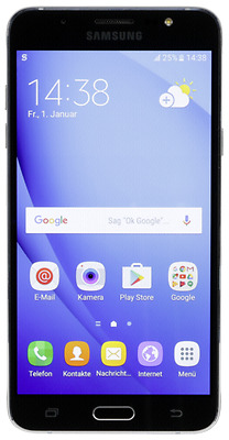 Samsung Galaxy J7 (2016) black NEU