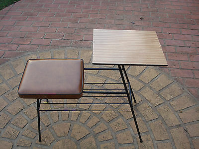 Vintage Telephone Table 1960s excellent unmarked original condition.