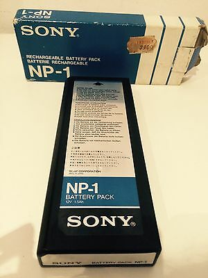 Sony NP 1 Rechargeable Battery