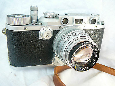 RARE Kardon USA WW2 Military Camera with 47mm f2 Ektar lens, WW2 Leica copy.