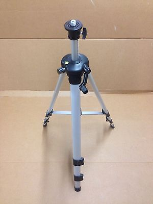 "Aluminium Adjustable Laser Tripod With 5/8"" Thread"