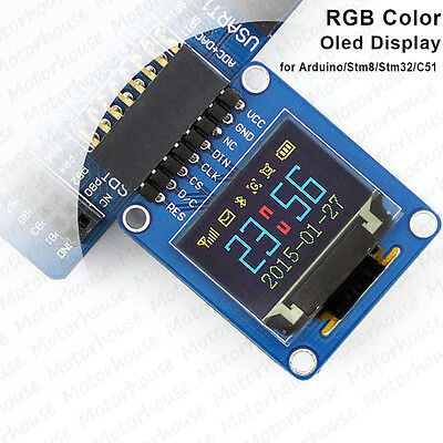 RGB OLED LCD Display Module Mini 96×64 SSD1331 SPI 65K Colorful for Arduino