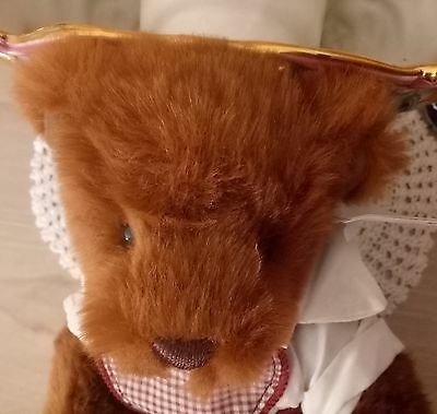 RUPERT JUNIOR Soooo Cute! Bear Gift Craft Retired w Tags as new condition 33.5cm