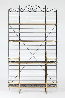 LARGE 20TH CENTURY BAKERS RACK IN THE FRENCH TASTE. Unmarked. - 85 1/... Lot 521