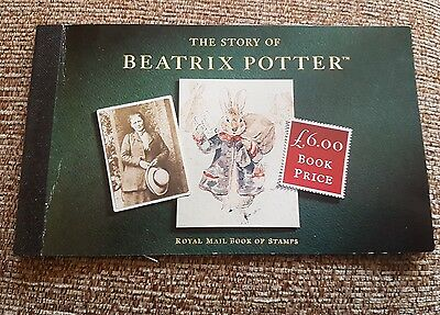 the story of beatrix potter stamp book