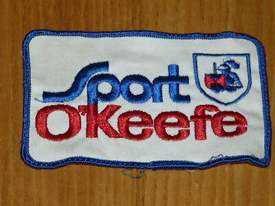 Vintage SPORT O'KEEFE Canadian Beer Embroided Patch