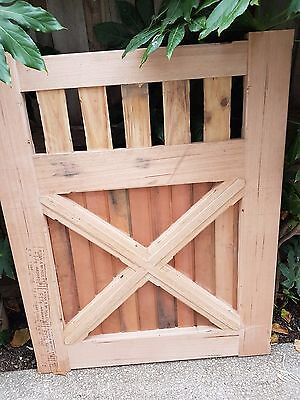 Picket Timber Wooden Fence GATE 1255 x 1m KD Vic Ash VICTORIAN COLONIAL GATES