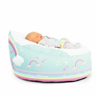 GaGa Pre-filled Baby Bean Bag - Unicorn Design