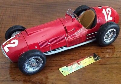 FERRARI 375 F1 1951 GB GP winner 1st win for Ferrari 1/24 unassembled model kit