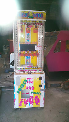 coin operated game of skill time buster arcade machine