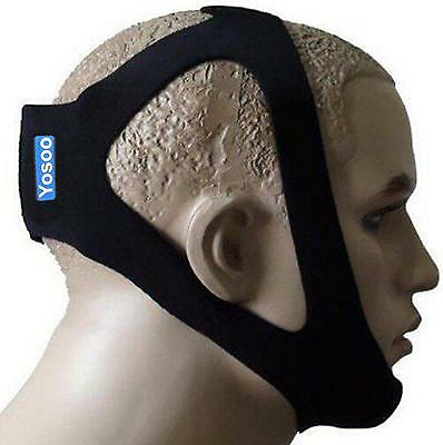 ZJchao Professional Anti Stop Snore Snoring Chin Strap Belt Adjustable One...