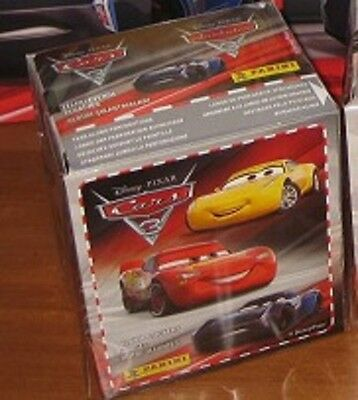 Panini Cars 3 movies 1 sealed box (50 packs) from Russia