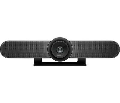 Logitech MeetUp ConferenceCam with 120-degree FOV and 4K optics (Black)