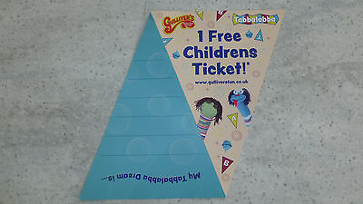 Voucher for Free Child Entry to Gulliver's World (T&C Apply)