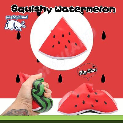 12CM Big Watermelon Squishy Slow Rising Cream Scented Cake Bread Kid Toy Gift