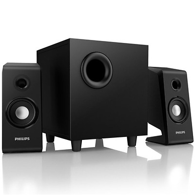 Casse 2.1 Potenza Nominale 30W Rms, 60W Musicale Pmpo,philips Spa2335/12