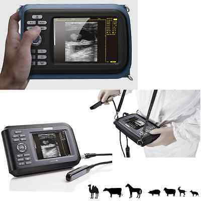 Veterinary Digital Handheld Ultrasound Scanner Animal Rectal Probe with Belt New