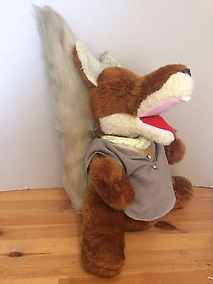 "17"" LARGE vintage rare BASIL BRUSH HAND/ventriloquist PUPPET  soft toy BOOM BOOM"