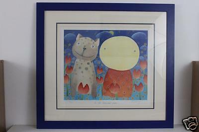 Mackenzie Thorpe Limited Edition Print in the Summer Time Pencil Signed