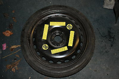 "*NEW* AUDI ORIGINAL 20"" CONTINENTAL  SPACE SAVER SPARE WHEEL 145/60/R20 A6 c7 4g"