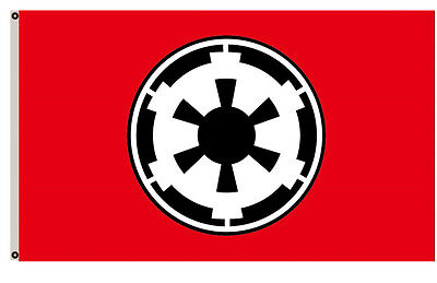 Galactic Empire Star Wars Flag 3x5ft banner