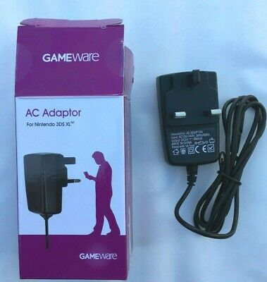 CE Mains Wall Charger Adapter UK Plug For Nintendo DSi NDSi DSiXL XL 3DS NEW