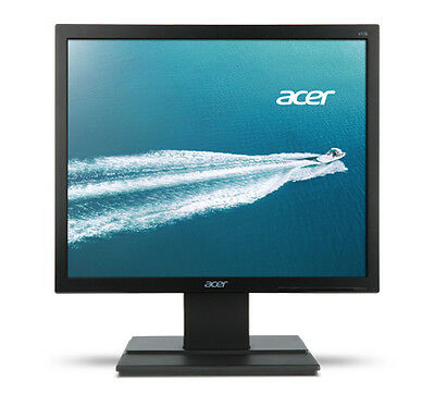 "Acer Essential 196L b 19"" Black computer monitor"