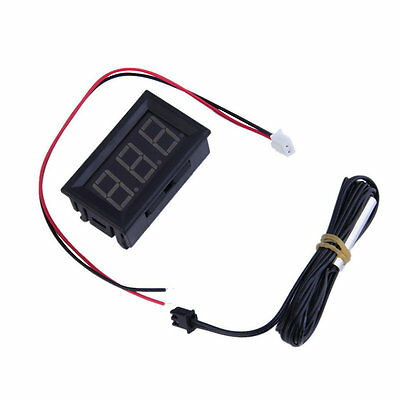Good  DC12V Digital Thermometer With Temp Probe Temperature LED Detector XP