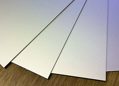 0.5mm thick Aluminium Sheet plate guilltotine cut model making  - All Sizes