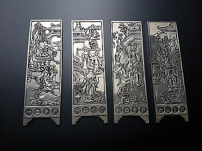 Chinese  Manuscript Scrolls Weights