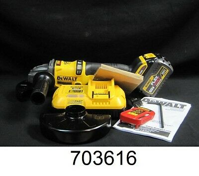 "DeWalt 60V MAX 4-1/2"" - 6"" Grinder Kit with Kickback Brake DCG414"