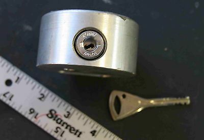 Vending machine Abloy puck lock high security with 1 working key