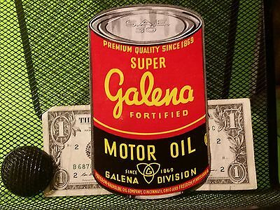 Vintage Super Galena Fortified Motor Oil Freedom / Valvoline Co Brochsure Rare