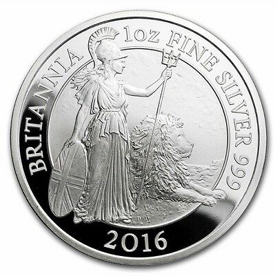 2016 UK Silver Britannia One Ounce - PROOF