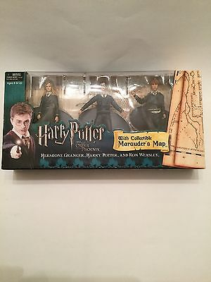 Harry Potter And The Order Of The Phoenix with Collectible Marauders Map HTF