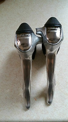 Shimano Dura-Ace ST-7700 Flight Deck 9 Speed STI Double Shifters / Levers